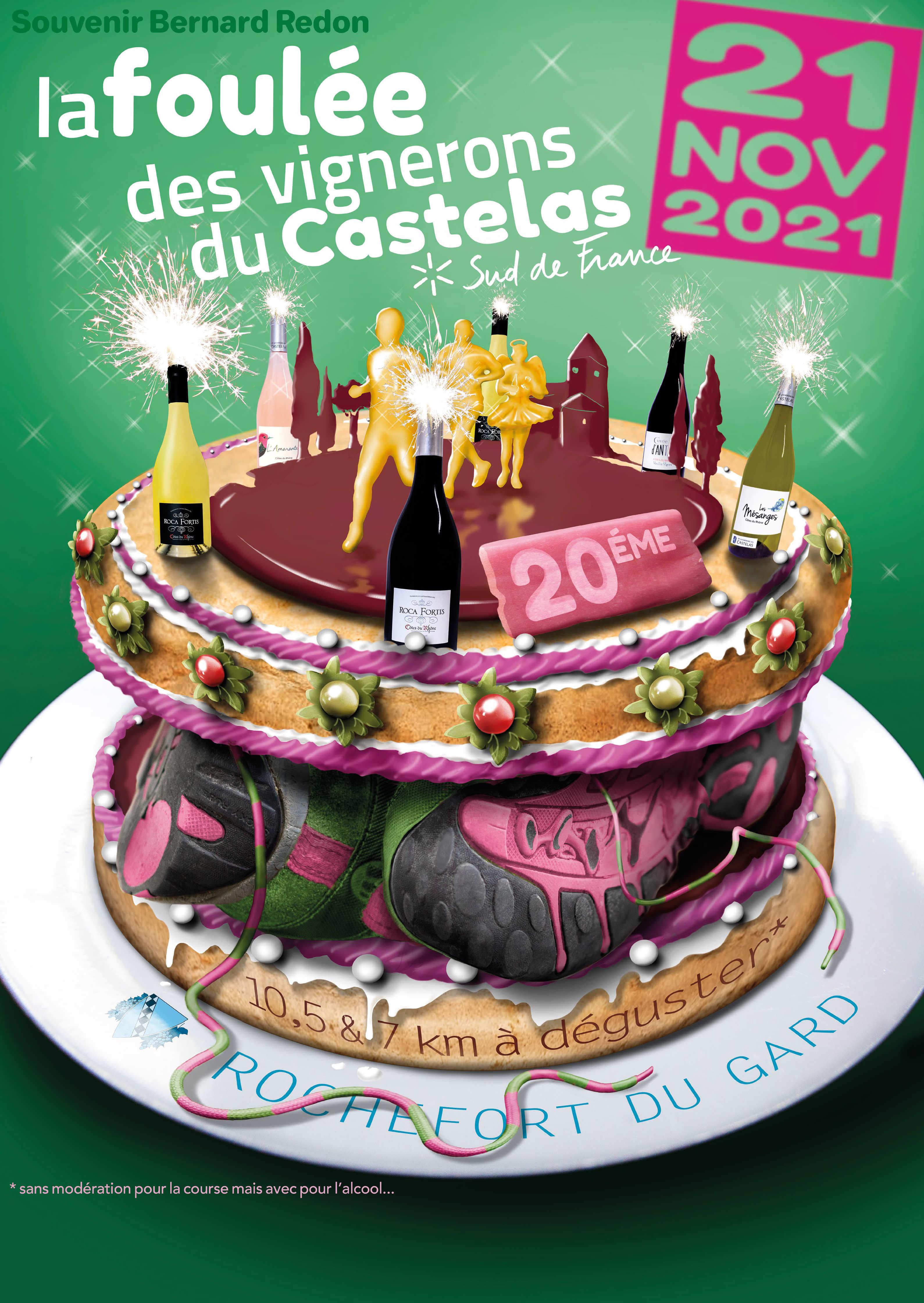 La Foulée des Vignerons du Castelas : 2021