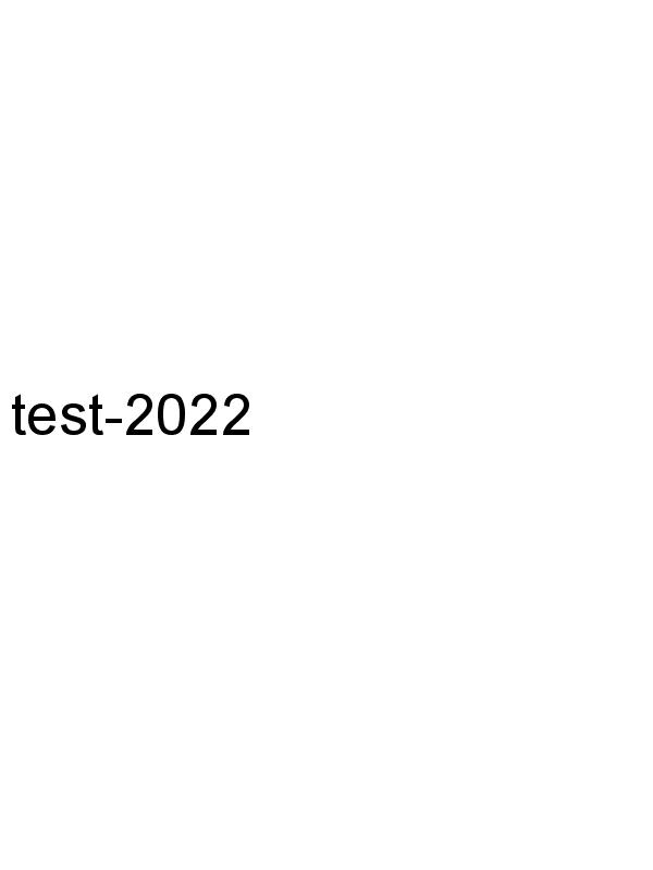 test-2022