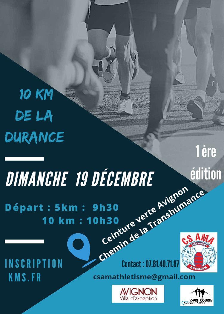 10KM de la Durance