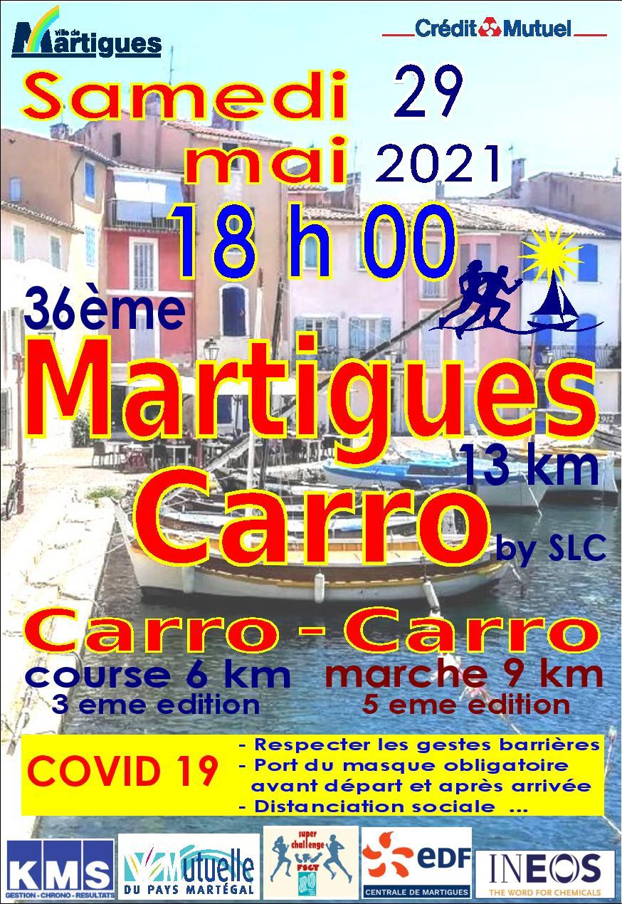 Affiche MARTIGUES-CARRO
